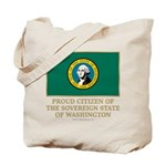 Washington Proud Citizen Tote Bag