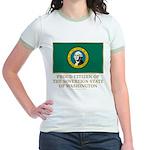 Washington Proud Citizen Jr. Ringer T-Shirt