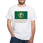 Washington Proud Citizen White T-Shirt