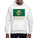 Washington Proud Citizen Hooded Sweatshirt