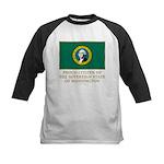 Washington Proud Citizen Kids Baseball Jersey