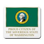 Washington Proud Citizen Mousepad