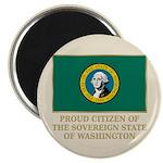 Washington Proud Citizen Magnet