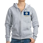 Virginia Proud Citizen Women's Zip Hoodie