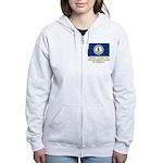 Virginia Proud Citizen Women's Zip Hoodie