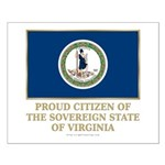 Virginia Proud Citizen Small Poster