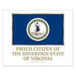 Virginia Proud Citizen Small Poster