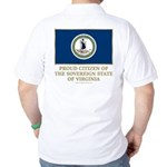 Virginia Proud Citizen Golf Shirt