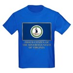 Virginia Proud Citizen Kids Dark T-Shirt