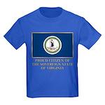 Virginia Proud Citizen Kids Dark T-Shirt
