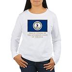 Virginia Proud Citizen Women's Long Sleeve T-Shirt