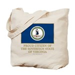 Virginia Proud Citizen Tote Bag