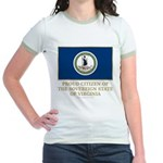 Virginia Proud Citizen Jr. Ringer T-Shirt