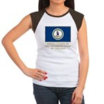 Virginia Proud Citizen Women's Cap Sleeve T-Shirt