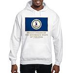 Virginia Proud Citizen Hooded Sweatshirt