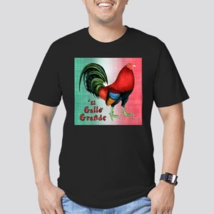 El Gallo Grande Men's Fitted T-Shirt (dark)