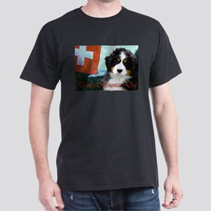 Bernese Mountain Dog Dark T-Shirt