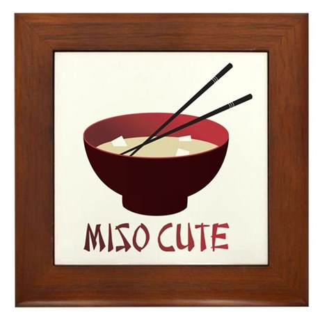 Miso Cute Framed Tile