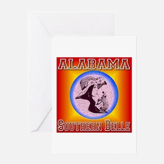 Alabama Southern Belle Greeting Card