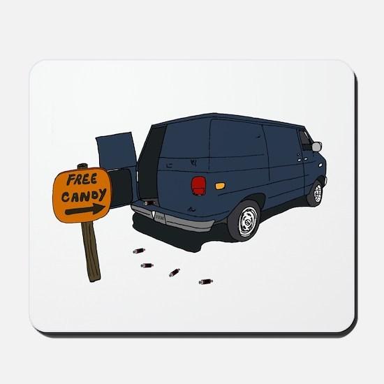 Funny Windowless Van Mousepad