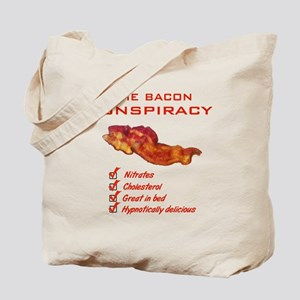 Funny Bacon Tote Bag