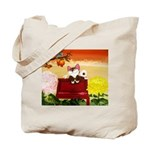 CAT ART ~ Seasons - Autumn Ca Tote Bag