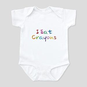 I Eat Crayons Infant Bodysuit