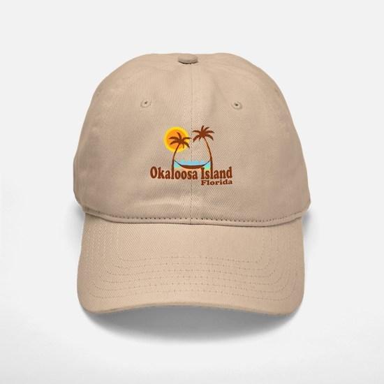 Okaloosa Island FL Baseball Baseball Cap