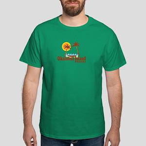 Okaloosa Island FL Dark T-Shirt