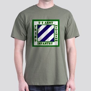 Third Infantry Division Dark T-Shirt