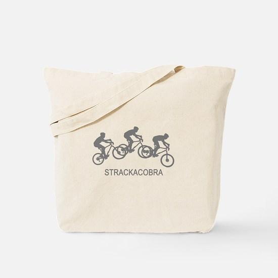 Gray Bikes Tote Bag