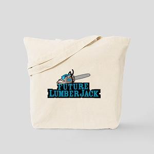 Future Lumberjack Tote Bag