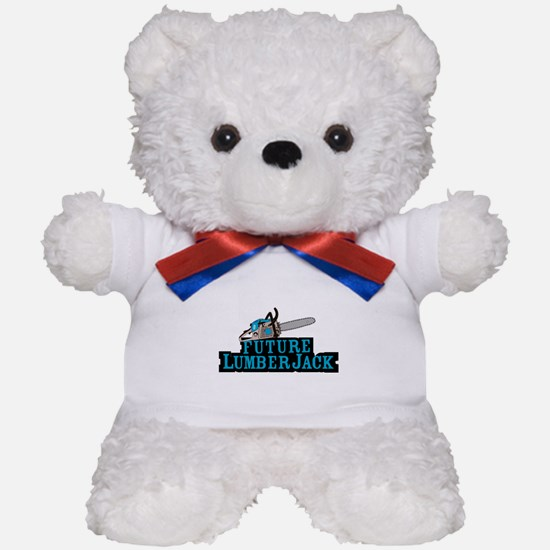 Future Lumberjack Teddy Bear