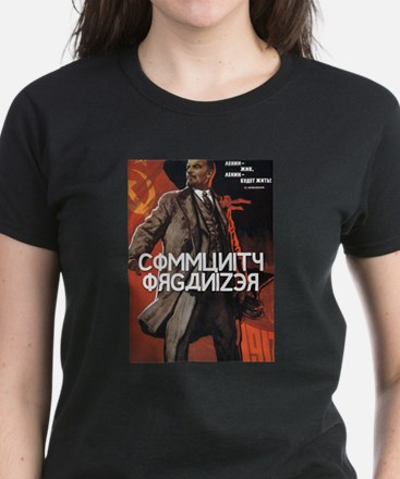 Community Organizer Women's Dark T-Shirt