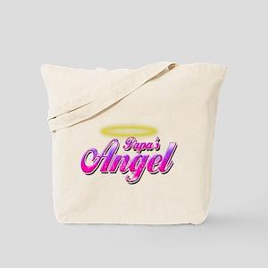 Papa's Angel Tote Bag