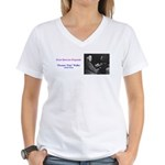 Fats Waller Women's V-Neck T-Shirt
