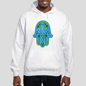 Artsy Hamsa Hooded Sweatshirt