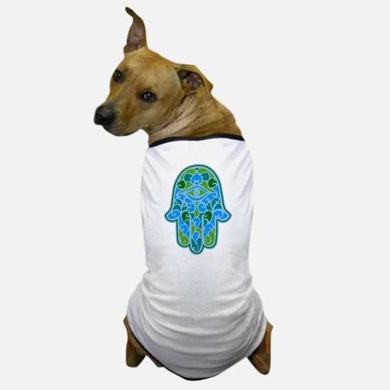 Artsy Hamsa Dog T-Shirt