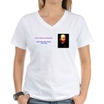 John Knowles Paine Women's V-Neck T-Shirt