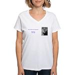 Virgil Fox Women's V-Neck T-Shirt