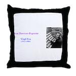 Virgil Fox Throw Pillow