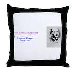 Eugene Thayer Throw Pillow