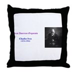 Charles Ives Throw Pillow