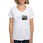 E Power Biggs Women's V-Neck T-Shirt