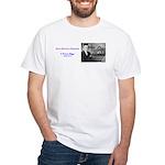 E Power Biggs White T-Shirt