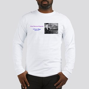 E Power Biggs Long Sleeve T-Shirt