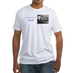 E Power Biggs Fitted T-Shirt