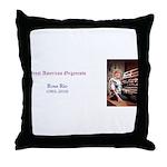 Rosa Rio Throw Pillow