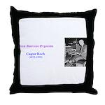 Caspar Koch Throw Pillow