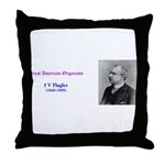 I V Flagler Throw Pillow